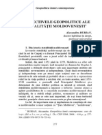 13. Burian A. PERSPECTIVELE GEOPOLITICE ALE STATALITĂŢII MOLDOVENEŞTI (1)