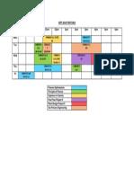 Sept 2013 Timetable