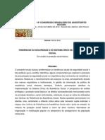 14º CONGRESSO BRASILEIRO DE ASSISTENTES SOCIAIS - Norma Braz