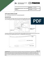 Mazda Bulletin No 01-037-08
