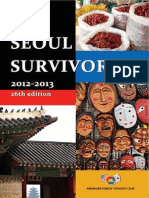 The Seoul Survivor 2012-2013