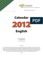 Lingolia Calendar 2012