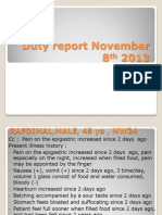 Duty Report, November 8th Complete