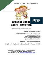 LaZarzuelaMAsDivertida Dossier Didactico