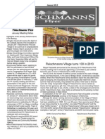 January 2013 Fleischmanns Flyer