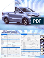 2012 Toyota Avanza Brochure
