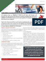 Ethics Brochure 2014