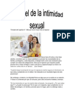 El Papel de La Intimidad Sexual