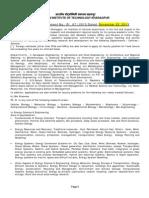 Notification IIT Kharagpur Faculty Posts