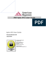 Ami Aptio Afu User Guide Nda