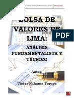 BOLSA DE VALORES DE LIMA - ANÁLISIS FUNDAMENTALISTA Y TÉCNICO