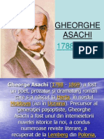 referat Gheorghe Asachi