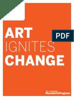 Mural Arts Brochure