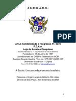 A Bucha Uma Sociedade Secreta Brasileira