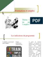 Thème- le diplôme un passeport pour l'emploi 2013-2014