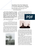 Useful Simulation Tool for Induction Generators Used In Wind Power Plants