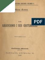 Araucanos i Sus Costumbres