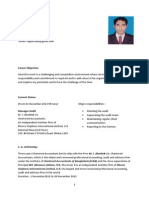 CV of Md Riaj Hossain