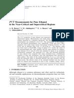 Ethanol PVT Data
