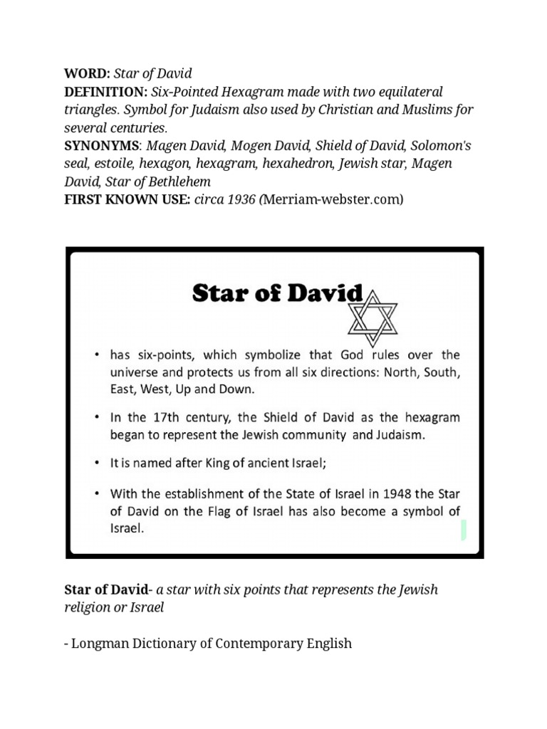 star of david definitions reference guide | ethnoreligious groups