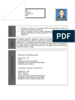 Resume of Masum