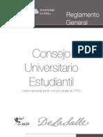 Reglamento General del Consejo Universitario Estudiantil de la Universidad La Salle