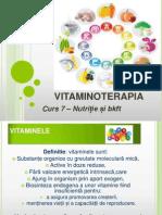 Curs 7 Vitaminoterapia