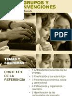 Presentación de Grupos y Convenciones