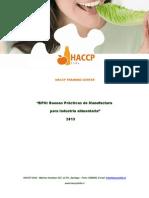 HACCP CONTENIDOS