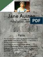 Jane Austen - facts, quotes, works