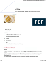 Coconut-Lemon Cake Recipe From Betty Crocker
