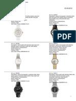 Katalog Rotary Watches (Stock) 03.09.2012