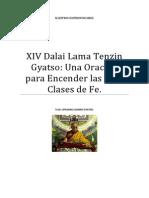 Dalai Lama XIV Tenzin Gyatso Una Oración para Encender las Tres Clases de Fe.