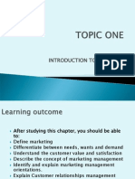 TOPIC ONE.pptmarketing