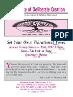 Abraham-Hicks Journal Vol 04 - 1998.2Q