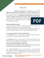 EDITAL PPQ 2013.2