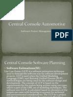 Central Console Automotive spm