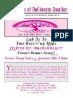 Abraham-Hicks Journal Vol 19 - 2002.1Q