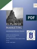 Trabajo Grupal El Plan de Marketing