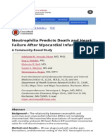 Neutrophilia Predicts Death and Heart