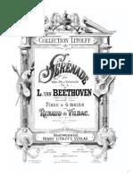 Beethoven Serenade Op.8 - Piano4h