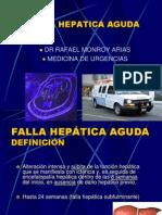 Falla hepática aguda