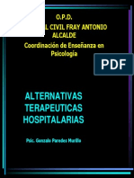 ALTERNATIVAS TERAPEUTICAS HOSPITALARIASred