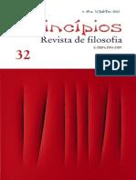 Princípios. Revista de Filosofia. Vol. 19, Numero 32. Dezembro de 2011.