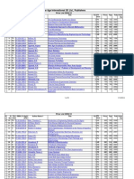 Newage_Price List as on September 2009