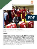 El Almería Basket se encarama a la segunda plaza - Almería Basket 65-45 CB Cazorla