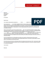 Civil Engineering Cover Letter 7