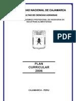 PLAN CURRICULAR 2006