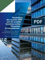 Application Normes IFRS Societes Foncieres Decembre2010