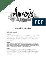 Manual Amnesia It